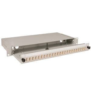 S04 1U Grey Sliding Patch Panel – 24 Position SC/LC/E2000 up to 48 fibres Datasheet