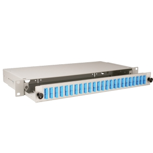 S10 1U Grey Sliding Patch Panel – 24 Position SC duplex up to 48 fibres Datasheet