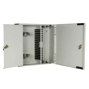 W06 - Lockable 96 Position ST/FC Double Door Wall Box