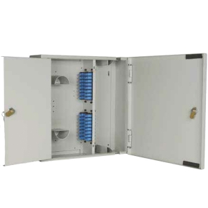 W09 - 4 Position Modular Double Door Lockable Wall Box